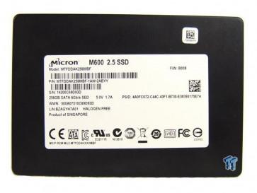 SSD M600 256GB SATA MTFDDAK256MBF-1AN1ZABYY MICRON