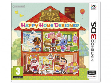 JUEGO 3DS ANIMAL CROSSING HAPPY HOME DESIGNER (SIN CARTA) NINTENDO