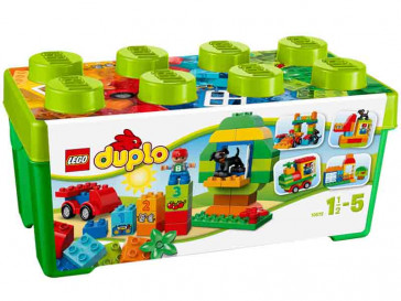 """DUPLO CAJA DE DIVERSION """"TODO EN UNO"""" 10572 LEGO"""