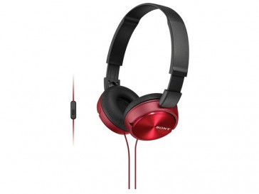 AURICULARES MDR-ZX310AP ROJO SONY