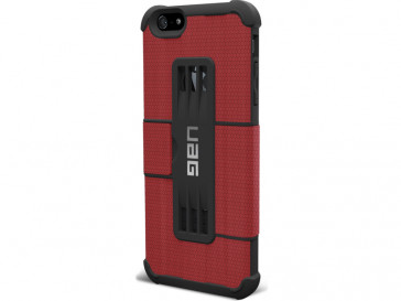 FOLIO ROGUE ROJO PARA IPHONE 6 PLUS UAG