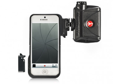 FUNDA KLYP 5 + ML240 LED IPHONE 5/5S MANFROTTO