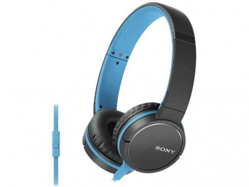 AURICULARES MDR-ZX660AP NEGRO/AZUL SONY