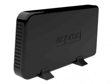 """CAJA EXTERNA USB 2.0 3.5"""" APPHDD07B APPROX"""