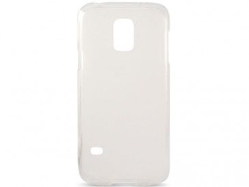 FUNDA FLEX TPU PARA GALAXY S5 MINI TRANSPARENTE FOGGY B8534FTP00 KSIX