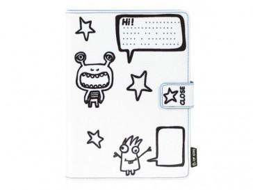 "FUNDA TABLET 7"" MONSTERS KIDSS TAUKT001 TECH AIR"