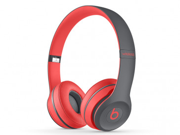 AURICULARES BY DR DRE SOLO 2 WIRELESS (R/GY) BEATS