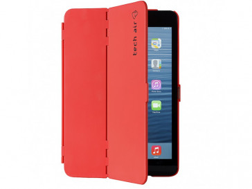 FUNDA FOLIO HARDSHELL IPAD MINI ROJA TAXIPM022 TECH AIR
