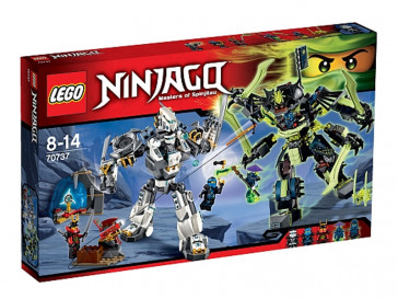 NINJAGO COMBATE EN EL TITAN ROBOT 70737 LEGO