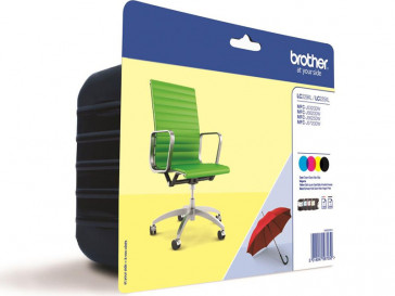 PACK 4 CARTUCHOS TINTA LC229XLVALBP BROTHER