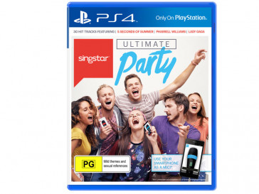 JUEGO PS4 SINGSTAR ULTIMATE PARTY SONY