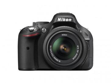 CAMARA REFLEX NIKON D5200 + AF-S 18/55 VR + LIBRO + FUNDA