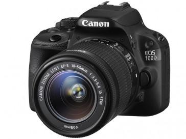 CAMARA REFLEX CANON EOS 100D + 18/55 IS STM