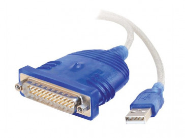 CABLE ADAPTADOR USB TO SERIAL DB25 81671 C2G