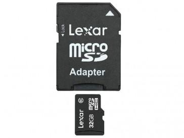 MICRO SDHC CLASE 10 32GB LSDMI32GABEUC10A LEXAR