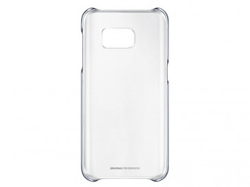 FUNDA CLEAR COVER GALAXY S7 EDGE NEGRA (EF-QG935CBEGWW) SAMSUNG