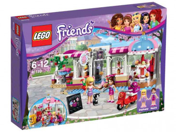 FRIENDS CAFETERIA DE HEARTLAKE 41119 LEGO