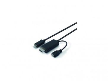 CABLE MHL MICRO USB 2.0 + ADAPTADOR BXCMHL06 KSIX