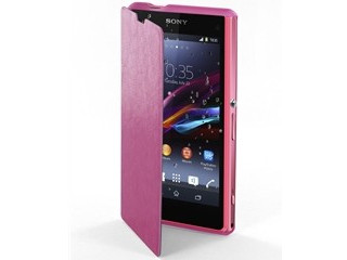 FUNDA EASY FOLIO XPERIA Z1 COMPACT SEEAF0003 (PK) MADE FOR XPERIA