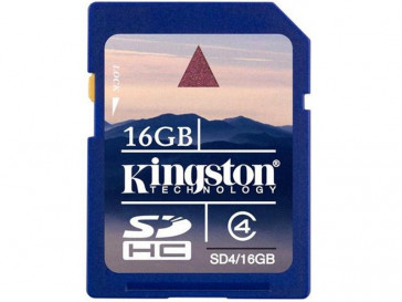 SDHC-SD4/16GB KINGSTON