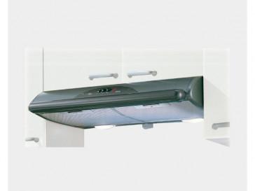CAMPANA MEPAMSA DECORATIVA INTEGRABLE 90CM GRIS HALOGENA MITO JET 90