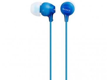 AURICULARES MDR-EX15LP (BL) SONY