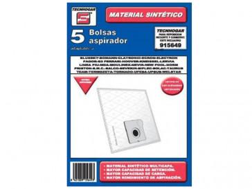 BOLSA ASPIRADOR TAURUS-MOLINEX-SOLAC 915649 TECNHOGAR