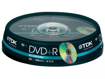 DVD+R 4.7GB 10 UD TDK