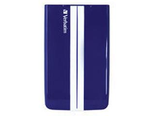 GT SUPERSPEED PORTABLE 500GB USB 3.0 BLUE/WHITE 53085 VERBATIM