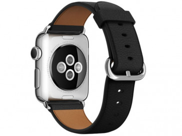 CORREA PIEL PARA APPLE WATCH 42MM LBD42AW-BLK NEGRA CASEUAL