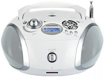 RADIO RCD 1450 DAB+ BLANCO/PLATA GRUNDIG