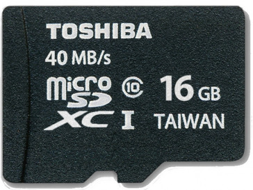 MICRO SD 16GB SD-C016UHS1-6 TOSHIBA