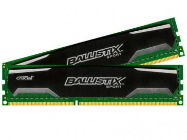 PACK MEMORIA 8GB DDR3 1600 MT CRUCIAL