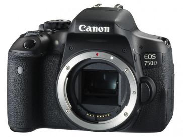 CAMARA REFLEX CANON EOS 750D + EF 24/105 F3.5-5.6 IS STM