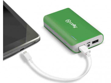 POWERBANK 6000MAH PB60000GN VERDE CELLY