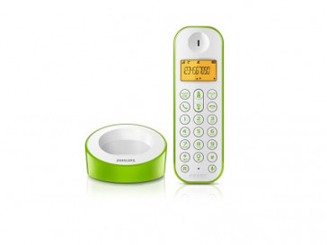 DECT D1201 BLANCO/VERDE PHILIPS