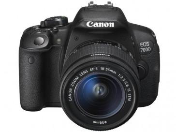 CAMARA REFLEX CANON EOS 700D + 18/55 IS STM + 55/250 IS II