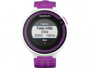 FORERUNNER 220 HR BLANCO/PURPURA GARMIN