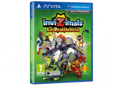 JUEGO PS VITA INVIZIMALS: THE RESISTANCE SONY