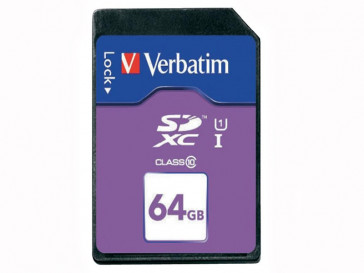 SDXC 64GB CLASE 10 44024 VERBATIM