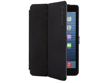 FUNDA FOLIO HARDSHELL IPAD MINI NEGRA TAXIPM021 TECH AIR