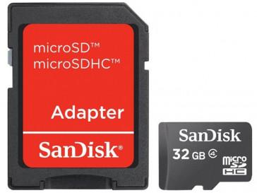 MICRO SDHC 32GB CON ADAPTADOR (SDSDQB-032G-B35) SANDISK