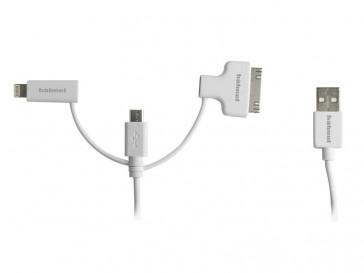 CABLE USB 3-EN-1 10006510 HAHNEL
