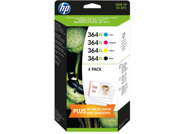 PACK 4 TINTAS 364 XL (J3M83AE#301) HP