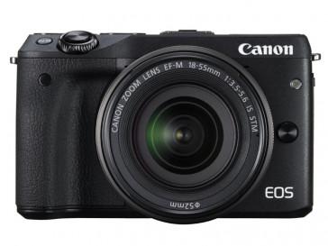 CAMARA REFLEX CANON EOS M3 + EF-M 18/55 IS STM