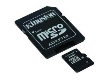 MICRO SDHC 8GB CLASE 10 GEN2 + ADAPTADOR SDC10G2/8GB KINGSTON