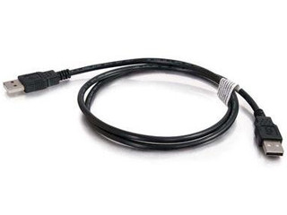 CABLE 2M USB 2.0 A MALE/A MALE NEGRO 81575 C2G