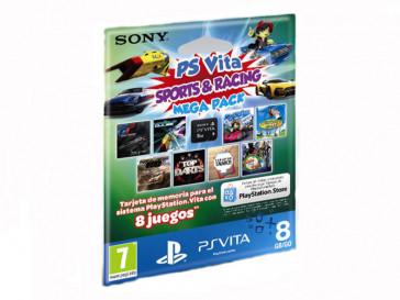 TARJETA PS VITA 8GB S&R PACK 9290278 SONY