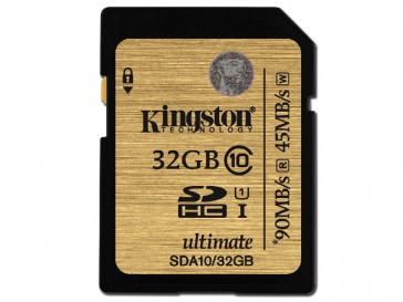 SDHC 32GB CLASE 10 UHS-I (SDA10/32GB) KINGSTON