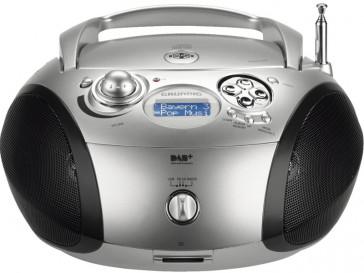 RADIO RCD 1460 DAB+ PLATA/NEGRO GRUNDIG